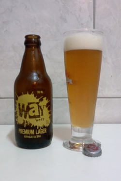 way beer premium lager